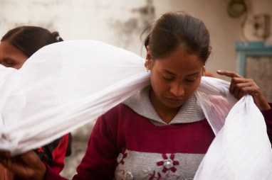 In two years, Lalita gave birth to two daughters, which brought down more abuse from her in-laws. Credit: Pallavi Gaur