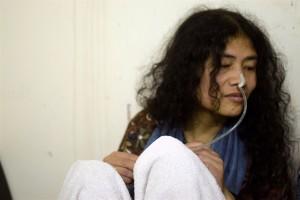 Irom Sharmila. Credit: Akhil Kumar