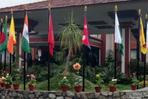 The Pokhara Grande, venue for the SAARC ministerial meeting. Credit: Devirupa Mitra