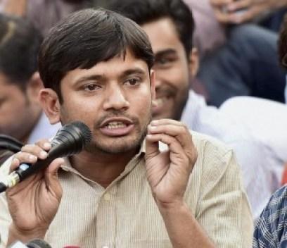 Kanhaiya Kumar. Credit: PTI