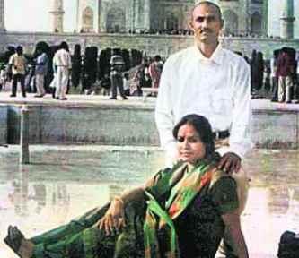 Sohrabuddin Sheikh & Kausar Bi. Credit: PTI