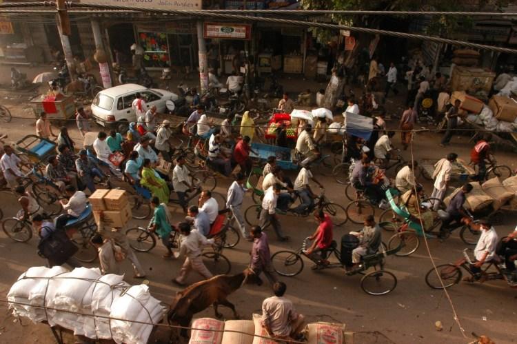 Sadar Bazar, Old Delhi. Credit: Shome Basu/The Wire