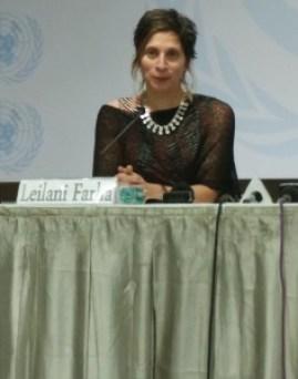 UN Special Rapporteur on Housing Leilani Farha