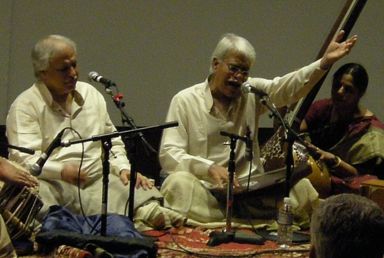 Rajan and Sajan Mishra, the popular Hindustani vocal duo and Padma Bhushan awardees, will perform at the upcoming Sankat Mochan Sangeet Samaroh starting April 28. Credit: Wikimedia Commons
