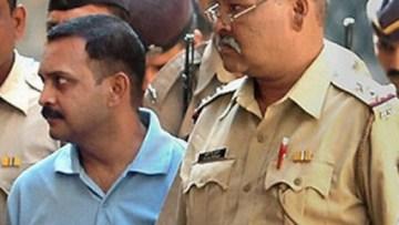 Malegaon blast accused Lt Col S.P. Purohit. Credit: PTI