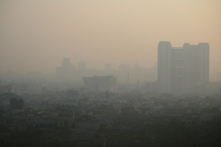 Delhi's air pollution has improved since last year, when it was ranked the world's worst. Credit: Photo Jean-Etienne Minh-Duy Poirrier