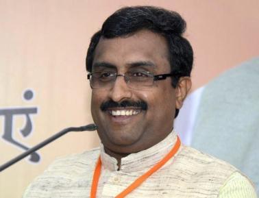 BJP General Secretary Ram Madhav. Credit: PTI
