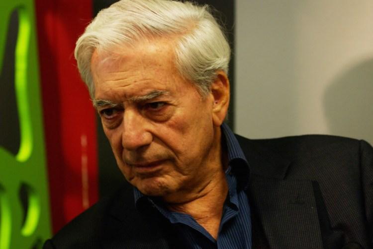 Mario Vargas Llosa. Credit: Wikipedia