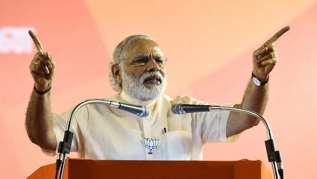 Narendra Modi. Photo: PTI.
