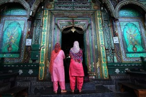Muslim women in India. Credit: Reuters/P.Rossignol.