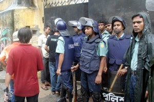 File photo of Bangladesh police. Credit: Reuters