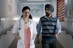A scene from Udta Punjab featuring Kareena Kapoor and Diljit Dhoshan. Credit: Tanul Thakur