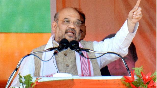 BJP President Amit Shah Credit: PT