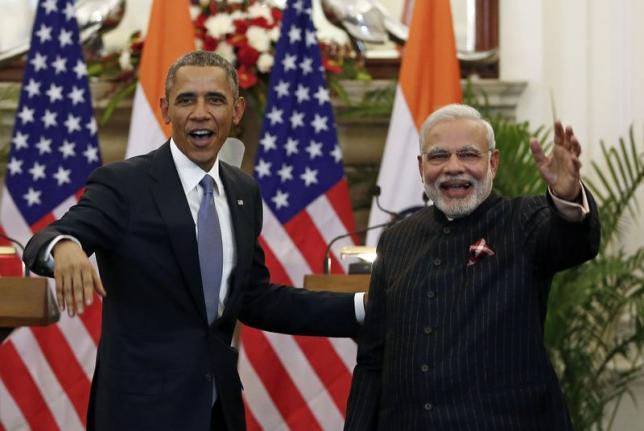 Prime Minister Narendra Modi with US President Barack Obama. Credit: PTI/Files