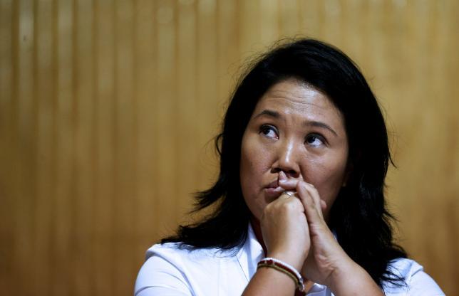 Keiko Fujimori. Credit: Reuters/Mariana Bazo
