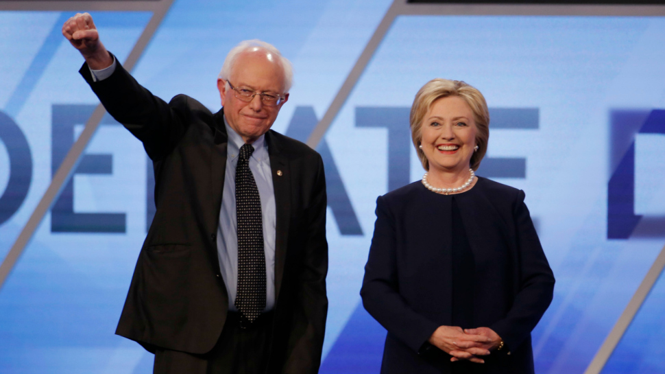 Picking Bernier Sanders as her running mate will help Hillary Clinton consolidate the support of the Democrat Party and may help her defeat Donald Trump. Credit: Reuters