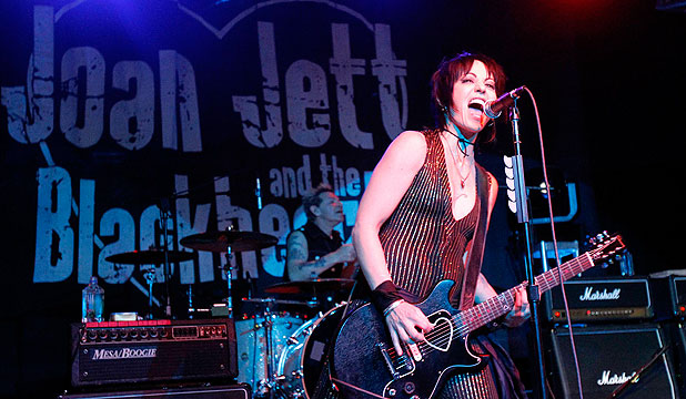 Joan Jett's I Love Rock and Roll is on the longlist of the BBC's search for the best riff ever written. Credit: Reuters