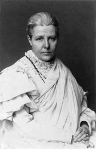 Annie Besant. Credit: Wikipedia