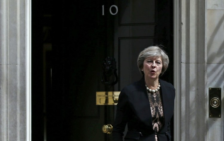 Theresa May will be sworn in as prime minister of Great Britain on Wednesday, July 13. Credit: Reuters/Peter Nicholls
