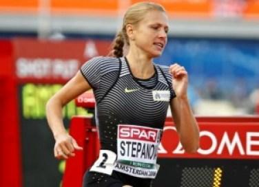 Yulia Stepanova of Russia. Credit: REUTERS/Michael Kooren
