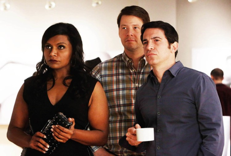 A still from The Mindy Project, starring Mindy Kaling