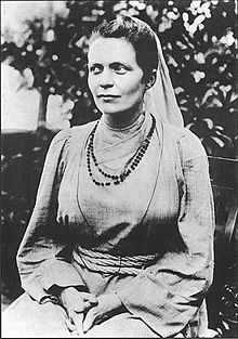 Sister Nivedita. Credit: Wikipedia