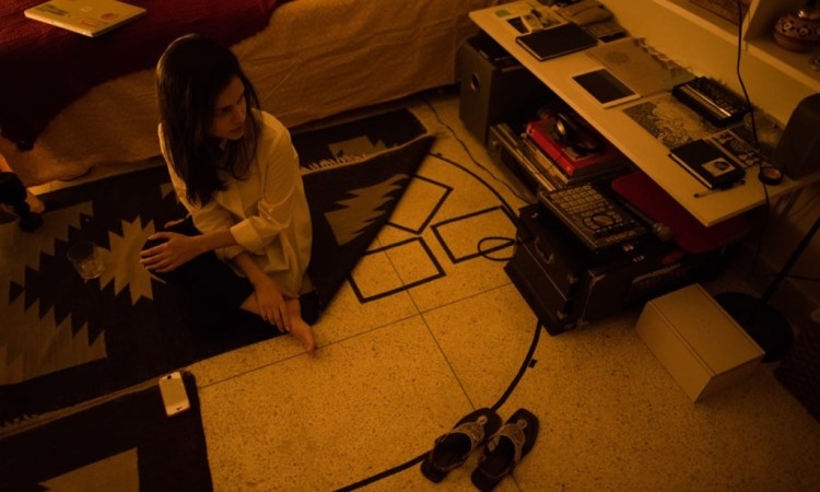 Zeerak Ahmed, the talent behind Slow Spin, in her bedroom studio. Credit: Mohammad Ali, White Star/Herald