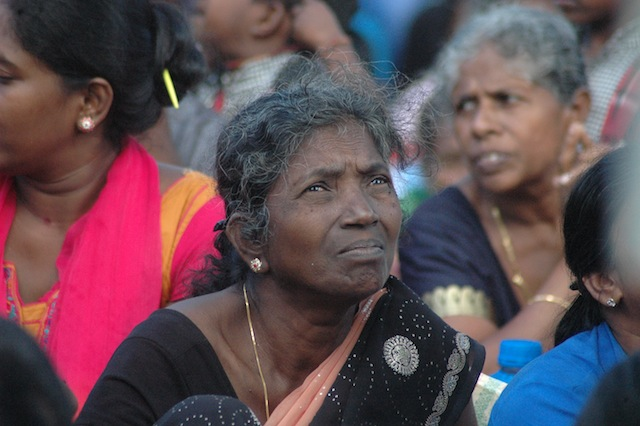 Women have been forced to take up the role of breadwinner, with aid agencies suggesting that single females – either widows or women whose partners went missing during the war – now head over 40,000 households in the province. Credit: Amantha Perera/IPS