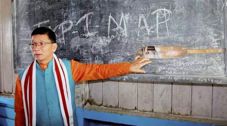 Former Arunachal chief minister, Kalikho Pul. Credit: PTI