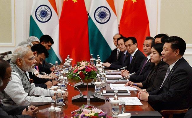 File photo of a meeting between PM Narendra Modi and Chinese President Xi Jinping at Tashkent. Credit: PTI