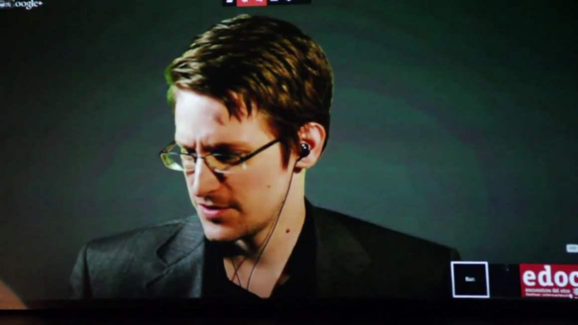 Edward Snowden. Source: Vimeo
