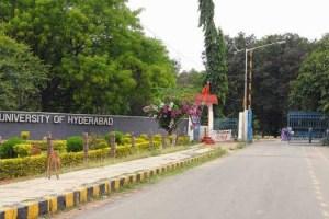 University of Hyderabad. Credit: PTI