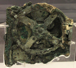 Front view of the Antikythera mechanism. Credit: Marsyas/Wikimedia Commons, CC BY-SA 3.0