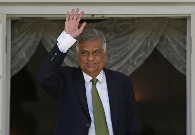 Sri Lankan Prime Minister Ranil Wickremesinghe. Credit: Reuters