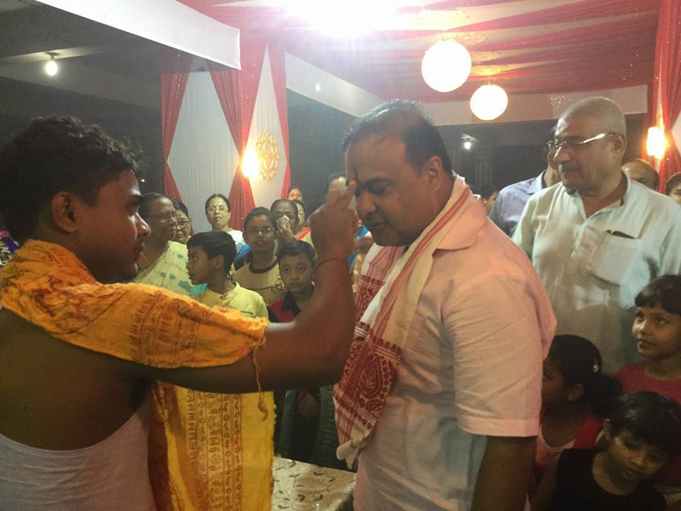 BJP leader Himanta Biswa sarma. Credit: Facebook