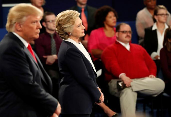 Donald Trump and Hillary Clinton. Credit: REUTERS/Rick Wilking