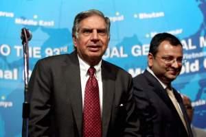 File photo of Cyrus Mistry and Ratan Tata. Credit: PTI