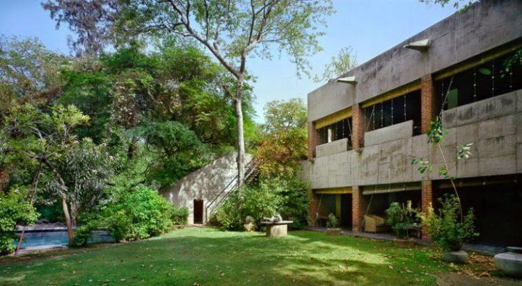 Villa Sarabhai, Ahmedabad, 1951-55