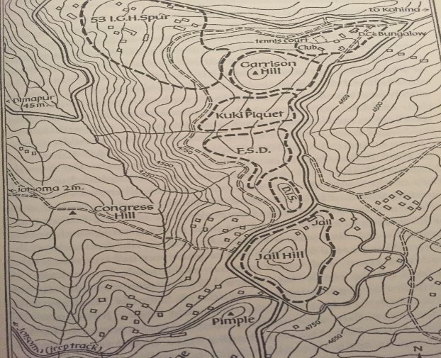 Topology map of Kohima. Courtesy: Speaking Tiger