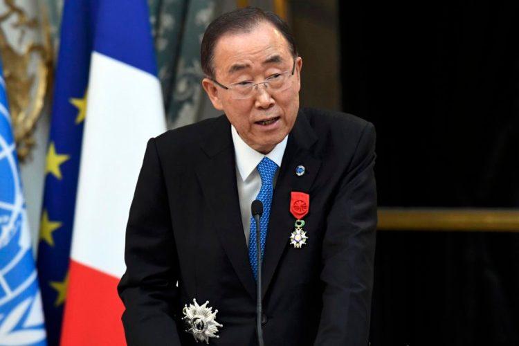 File photo of UN Secretary General Ban Ki-moon. Credit: Reuters