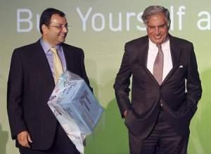 Cyrus Mistry and Ratan Tata. Credit: Reuters/Files