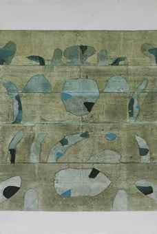 Vasudeo Gaitonde's Untitled