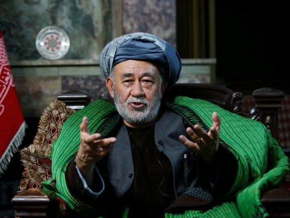 Ahmad Ishchi, who said he was beaten and detained by Afghanistan's vice president, Gen. Abdul Rashid Dostum in November. Credit: Reuters