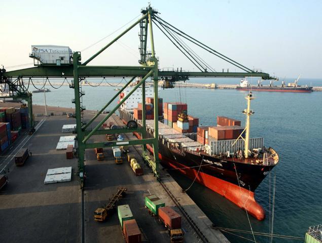 A view of Tuticorin port. Credit: Wikimedia
