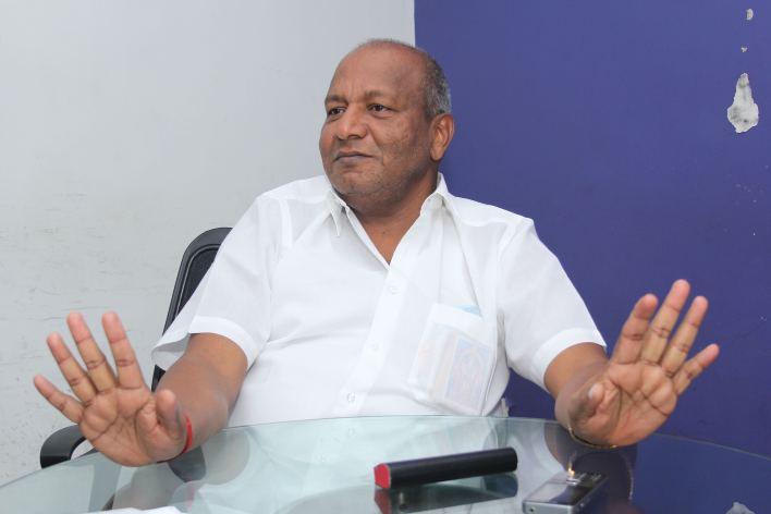 S. Vaikundarajan in Chennai in 2015. Credit: Sandhya Ravishankar.