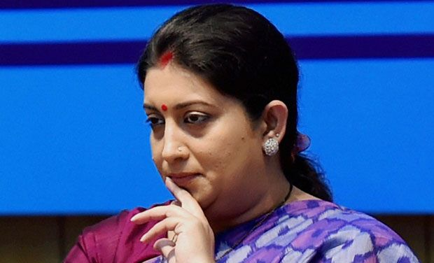 Smriti Irani Gets I&B Ministry, NS Tomar Given Ministry Of Urban Development
