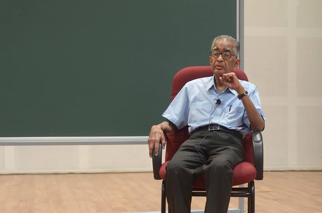 C.V. Vishveshwara. Credit: International Centre for Theoretical Sciences, Bengaluru