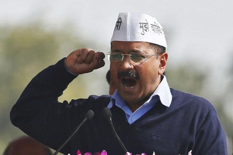 AAP leader Arvind Kejriwal in Delhi. Credit: Reuters/Files