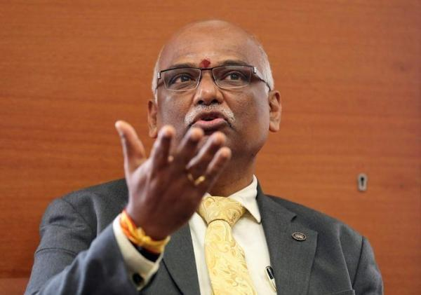 Reserve Bank of India (RBI) Deputy Governor R. Gandhi. Credit: Reuters