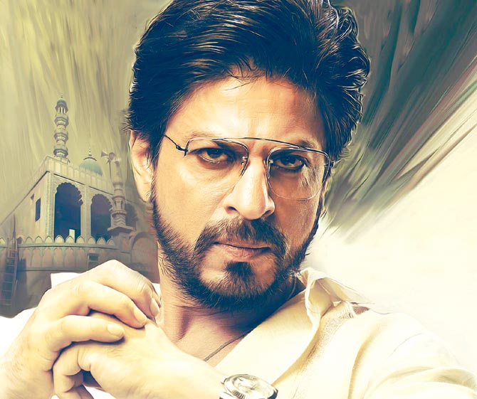 A still from Raees.